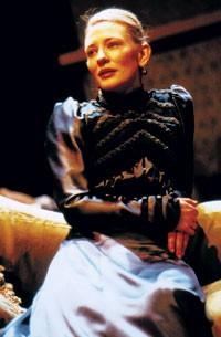"Cate Blanchett in ""Hedda Gabler."""