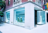 A rendering of Oscar de la Renta's first freestanding store.