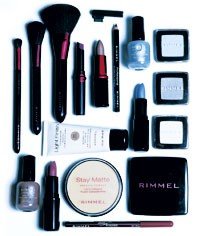 A selection of Rimmel products.