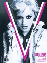 Gwen Stefani on the cover of V.
