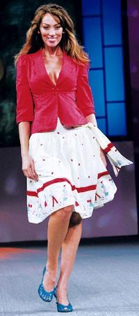 Vroom jacket and circle skirt.