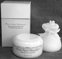 The latest upscale skin care product for mass, Micro Pearl Abrasion.