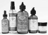 Anakiri's BioEnergetic skin care line.