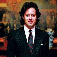 David Lauren at Polo's New York headquarters.