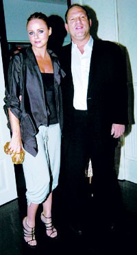Stella McCartney and Harvey Weinstein