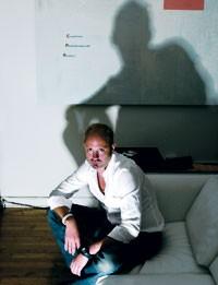 Bryan Bradley at his studio.