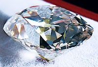 The 128.48-carat Star of the South.