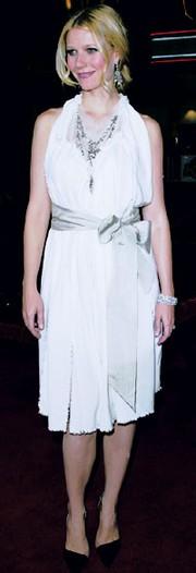 Gwyneth Paltrow in Lanvin.