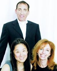 Chet Hazzard, Vera Wang and Susan Sokol.