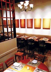 Inside the new Tempo restaurant in Brooklyn.