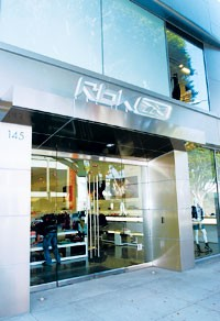 The new Rbk store in L.A.
