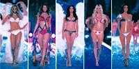 Victoria's Secret Angels: Tyra Banks, Gisele Bündchen, Adriana Lima, Heidi Klum and Alessandra Ambrosio.