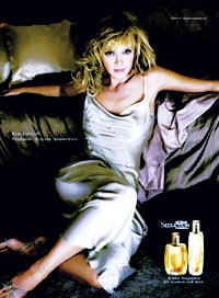 The Spark Seduction ad featuring Kim Cattrall.