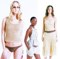 Looks from the spring collection.