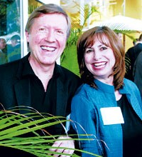 Roger Schmid adn Kathy Cullin