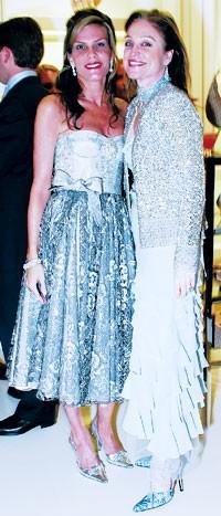 Debra Grierson and Becca Cason Thrash, both in Dior.
