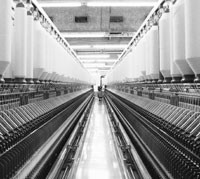 South African manufacturers, such as Frame Textile, have automated most of their operations.
