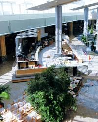A new atrium at Westfield Shoppingtown Santa Anita.
