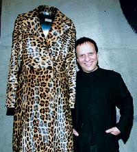 Azzedine Alaïa in his Paris boutique.