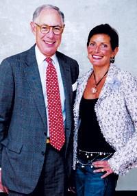Arie Kopelman and Maureen Chiquet