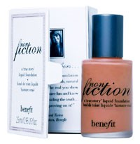 Benefit's new story for 2005: no-nonsense foundation.