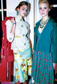 Two looks from Tracy Reese's Plenty spring line.