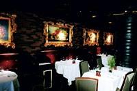 The dining room at Silverleaf Tavern.