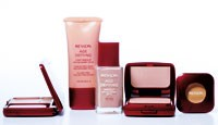 Select offerings from Revlon's new face makeup collection, Age Defying with Botafirm, slated to debut in January.