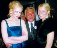Nicole Kidman, Giancarlo Giammetti and Gwyneth Paltrow.
