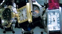 Seized watches imported with model numbers indicating they were fax machines. Watch faces like the one below are smuggled in with a decal covering the Cartier name.