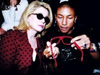Pharrell Williams and Catherine Deneuve