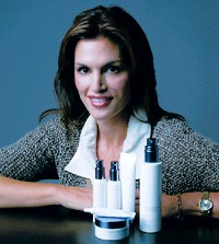Cindy Crawford and her new skin care collection, Meaningful Beauty.