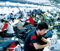 Chinese garments factories are in for a boom period after the lifting of quotas.
