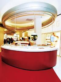 The L'Oréal store.