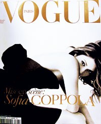 French Vogue's December-January cover.