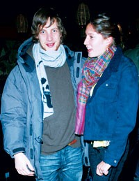 James Jagger with Stella Schnabel in Chrome Hearts and Dior Homme.