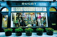 The Rugby store in Boston, which will have two more siblings in the next two months.