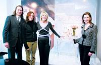 Mark Knitowski, Marcia Mossack, Sherry Baker and Barbara Calcagni.