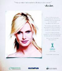 Heidi Klum in the new PSA.
