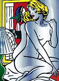 A Roy Lichtenstein work.