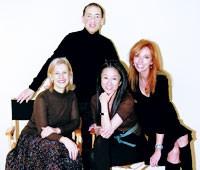 Clockwise from top: Chet Hazzard, Susan Sokol, Vera Wang and Laura Lee Miller.