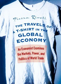 """""""The Travels of a T-Shirt in a Global Economy"""" is due to be published in April."""