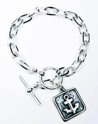 Femme Metale by Superstar's sterling silver bracelet.