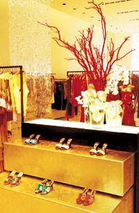 Inside Roberto Cavalli's new Beverly Hills store.
