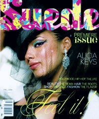 The premiere issue of Suede.