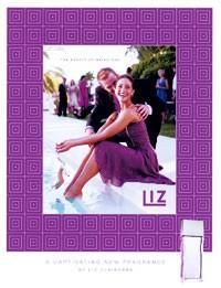 The new Liz advertising visual.