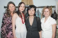 Christina Hattler, Andrea Breuckner, Kyung Lee and Wendy Bassin.