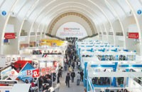 Exhibitors at Intertextile Beijing were concerned about the threat of safeguard quotas being imposed on China's exports.