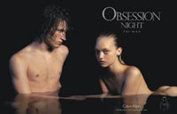 The Obsession Night for Men ad.