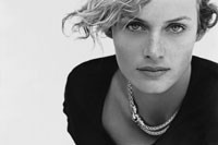 One of the first ads Peter Lindbergh shot for Yurman, spring 2001.